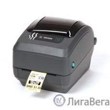 Zebra GK420t  [GK42-102520-000] Черный {TT Printer, 203 dpi, Euro and UK cord, EPL, ZPLII, USB, Serial, Centronics Parallel}