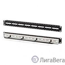 Hyperline PPHD-19-48-8P8C-C5e-110D Патч-панель высокой плотности 19″, 1U, 48 портов RJ-45, категория 5e, Dual IDC