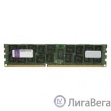 Kingston DDR3 8GB (PC3-12800) 1600MHz [KVR16LR11D4/8] ECC Reg CL11 DR x4 1.35V w/TS