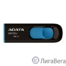 A-DATA Flash Drive 16Gb UV128 AUV128-16G-RBE {USB3.0, Black-Blue}