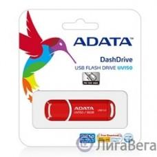 A-DATA Flash Drive 16Gb UV150 AUV150-16G-RRD {USB3.0, Red}