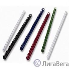 Office Kit Пластиковые пружины BP2065 22 мм белые 50 шт.