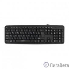 CBR KB 106 Black PS/2, Клавиатура 104 кл., офисн.