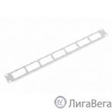 ЦМО Органайзер кабельный горизонтальный 19″ 1U с окнами для кабеля (ГКО-О-1)