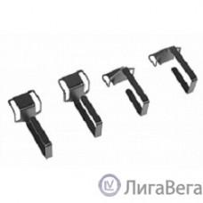 ЦМО Органайзер кабельный одинарный изгонутый, цвет черный (СБ-Б-9005)