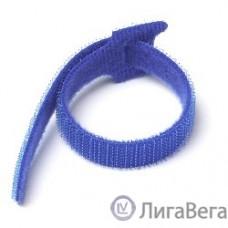 Hyperline WAS-210-BL Хомут-липучка синий 210мм