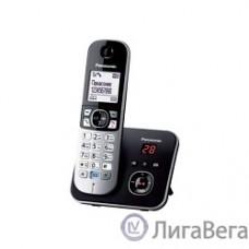 Panasonic KX-TG6821RUB  (черный) {Беспроводной DECT,автоответчик,определитель номера,телефонный справочник 120 зап.}