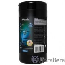 DEFENDER CLN 30322 Влажные чистящие салфетки для экранов в тубе, 100шт.