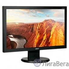 LCD Acer 19.5″ V206HQLAB черный {TN 1600х900, 200 cd/m, 100M:1, 90/65, 5ms, D-Sub}