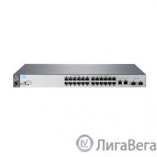 HP J9782A Коммутатор HPE 2530-24 управляемый 19U 24x10/100BASE-TX 2x10/100/1000BASE-T