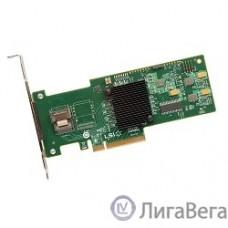 LSI (LSI00199) Контроллер LSI Logic MegaRAID SAS 9240-4i SGL PCI-E, 4-port 6Gb/s, SAS/SATA RAID Adapter