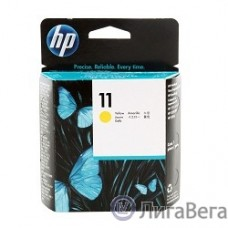 HP C4813A Печатающая головка №11, Yellow {2200/2250/DJ500(ps)/800(ps)/100/100 plus/110/110nr plus, Yellow}