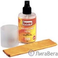 BURO BU-GSURFACE [817422] Гель для чистки поверхности, 200 мл и салфетка из микрофибры