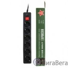 Gembird Сетевой фильтр Гарнизон EHB-15 5.0 м 6 розетки черный