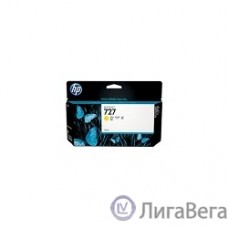 HP B3P21A Картридж №727, Yellow {Designjet T920/T1500, Yellow (130ml)}