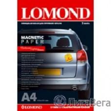 LOMOND 2020345 ″Magnetic″ глянцевая бумага с магнитным слоем,  660 г/м2, A4 (2), 530 мкм (LMT53)