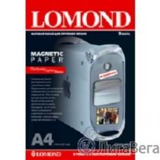 LOMOND 2020346 ″Magnetic″ глянцевая бумага с магнитным слоем,  620 г/м2, A4 (2), 325 мкм (LMT52)