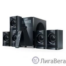 SVEN HT-200 черный {5.1, 5х 20Вт + 12Вт , FM-тюнер, USB/SD, дисплей, пульт ДУ}