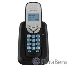 TEXET TX-D6905A  черный (громкая связь,телефонная книга на 50 имен и номеров, определитель номера, будильник)