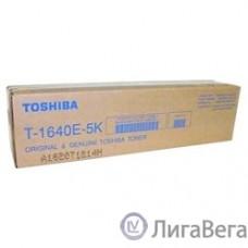 Toshiba 6AJ00000023/6AJ00000194/6AJ00000023 Тонер T-1640E-5K, Black {e-Studio 163/165/166/167/203/205, (5 900 стр.)}
