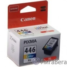 Canon CL-446XL 8284B001 Картридж для PIXMA MG2440/2540. Цветной, 300 стр.