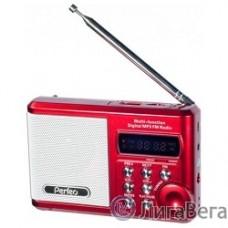 Perfeo мини-аудио Sound Ranger, FM MP3 USB microSD In/Out ридер, BL-5C 1000mAh красный (PF-SV922RED) [Pf_3182]