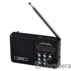 Perfeo мини-аудио Sound Ranger, FM MP3 USB microSD In/Out ридер, BL-5C 1000mAh, черный (PF-SV922BK)