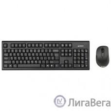 A4Tech 7100N USB Black Комплект клавиатура + мышь [613833]