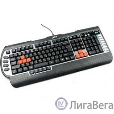 Keyboard A4Tech G800V черный USB Multimedia Game