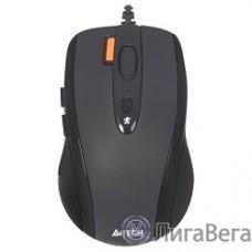 A-4Tech Мышь N-70FX(-1) (BLACK)  USB, 4+1 кл.-кн.,провод.мышь [627755]