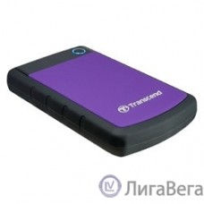Transcend Portable HDD 2Tb StoreJet TS2TSJ25H3P {USB 3.0, 2.5″, violet}