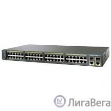 CISCO WS-C2960+48TC-L Catalyst 2960 Plus 48 10/100 + 2 T/SFP LAN Base