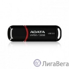 A-DATA Flash Drive 32Gb UV150 AUV150-32G-RBK {USB3.0, Black}