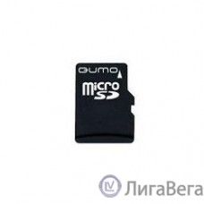 Micro SecureDigital 4Gb QUMO QM4GMICSDHC10 {MicroSDHC Class 10, SD adapter}