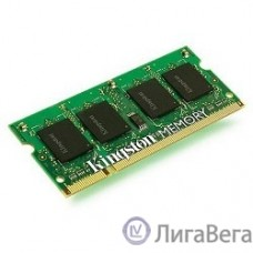 Kingston DDR3 SODIMM 2GB KVR16S11S6/2 PC3-12800, 1600MHz