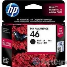 HP CZ637AE Картридж №46, Black {DJ2520/2020, Black}