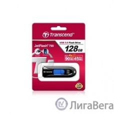 Transcend USB Drive 128Gb JetFlash 790 TS128GJF790K {USB 3.0}