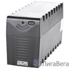 UPS Powercom RPT-1000AP {1000 ВА/ 600 Вт, AVR, USB, RJ11/RJ45, 3 розетки IEC320 C13 с резервным питанием}