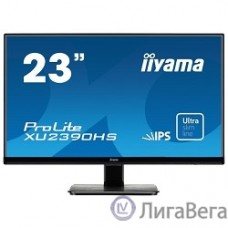 IIYAMA 23″ XU2390HS-B1 черный {AH-IPS LED 1920x1080 5ms 16:9 1000:1 250cd 178°/178° D-Sub DVI HDMI}
