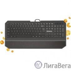 Defender Oscar SM-600 Pro Black USB [45602] {Клавиатура проводная Pro 104+6кн, 13 доп.ф-ций}