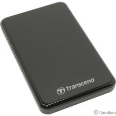 Transcend Portable HDD 2Tb StoreJet TS2TSJ25A3K {USB 3.0, 2.5″, black}