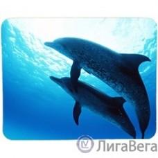 Коврик для мыши Buro BU-M40083 дельфины [817312]