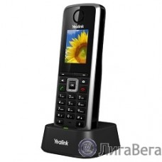 YEALINK W52H DECT Беспроводной телефон (трубка), HD звук, до 5 аккаунтов, цветной LCD-дисплей 1.8″, поддержка PoE