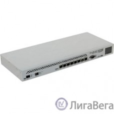 MikroTik CCR1036-8G-2S+EM Маршрутизатор Tile-Gx36 CPU (36-cores, 1.2Ghz per core), 8GB RAM, 2xSFP+ cage, 8xGbit LAN, RouterOS L6, 1U rackmount case, PSU, LCD panel