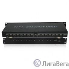 VCOM DD4116 Разветвитель HDMI Spliitter 1=>16 3D Full-HD 1.4v, каскадируемый