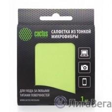 CACTUS Салфетки CS-MF01 Микрофибра для деликатного ухода за любыми типами поверхностей, 18x18 см