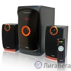 Dialog Progressive AP-200 BLACK { 2.1, 30W+2*15W RMS, USB+SD reader }