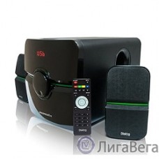 Dialog Progressive AP-203 BLACK {2.1, 18W+2*10W RMS, USB+SD reade}