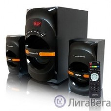 Dialog Progressive AP-210B BLACK {2.1, 30W+2*15W RMS, Bluetooth, USB+SD reader}