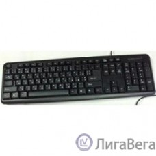 Keyboard Gembird KB-8320U-BL черный {USB, 104 клавиши}